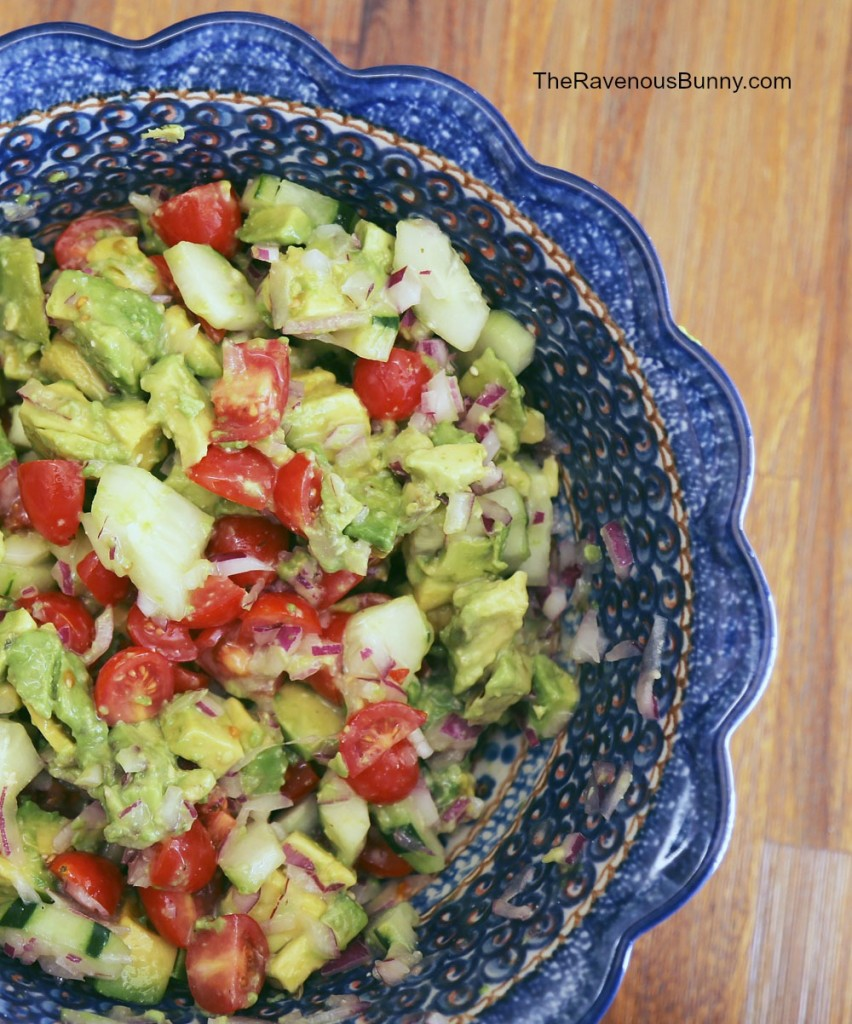 Avocado Cucumber Salad Recipe