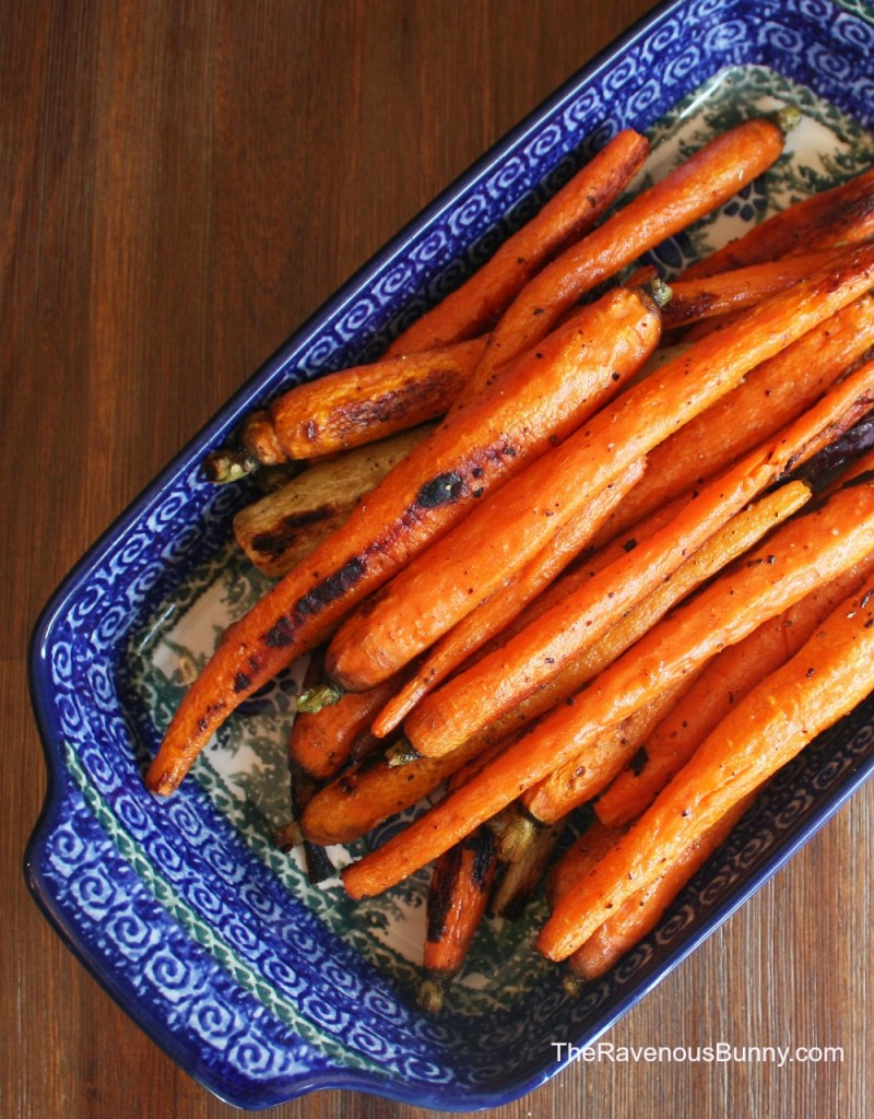 Sweet Oven Roasted Carrots
